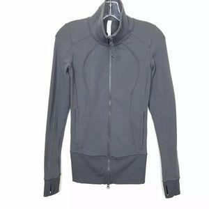 Lululemon Full Zip Fitted Jacket Ribbed Waist 2